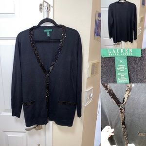 Ralph Lauren Cardigan with sequins